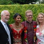 scottish and hindu wedding